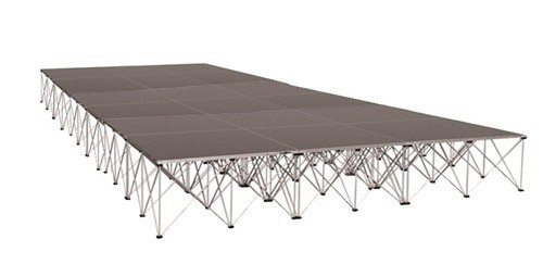 18 SQUARE METER BASIC STAGE(18 PCS. OF 1M X 1M  PLATFORMS)